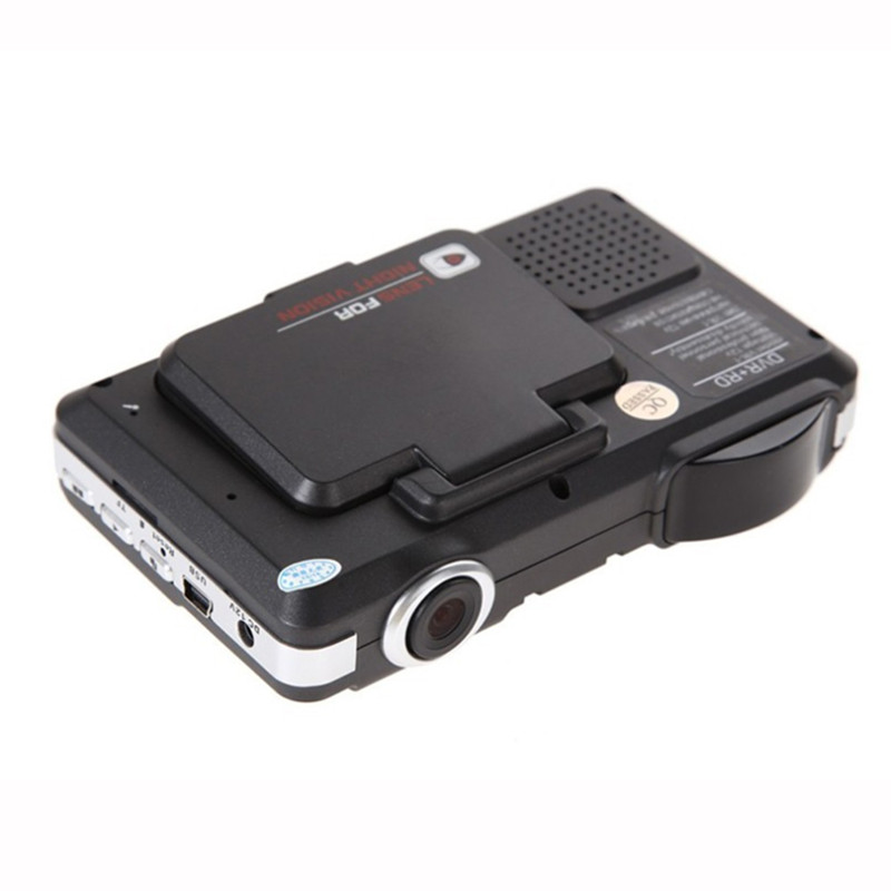 Flip Type 3 In 1 Car Radar Detector GPS Tracker 2.0