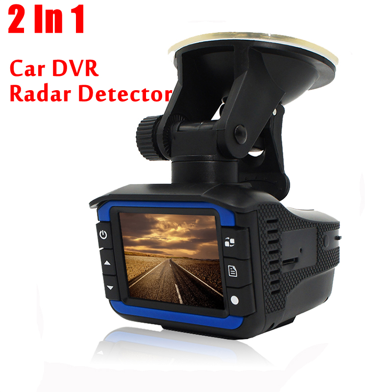 Excellent 2 In 1 Anti Laser Car Radar Detector G-sensor DVR Camera Recorder 140 Degree Lens HD 720P With Russian&English Versio