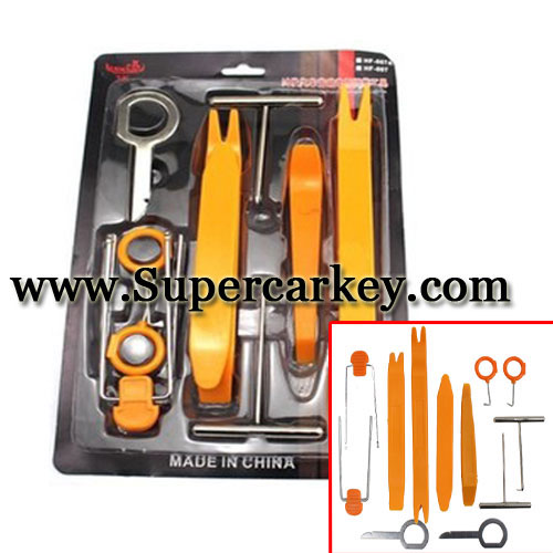 Removal tool For Auto  Radio Navigation Panel 12 in 1 set