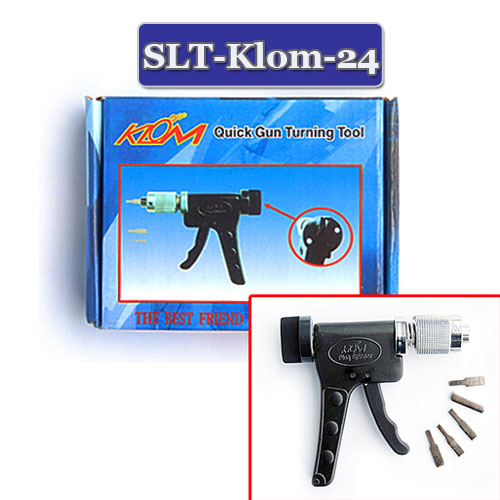 Klom Locksmith Tools Quick Gun Spring Turning Tool