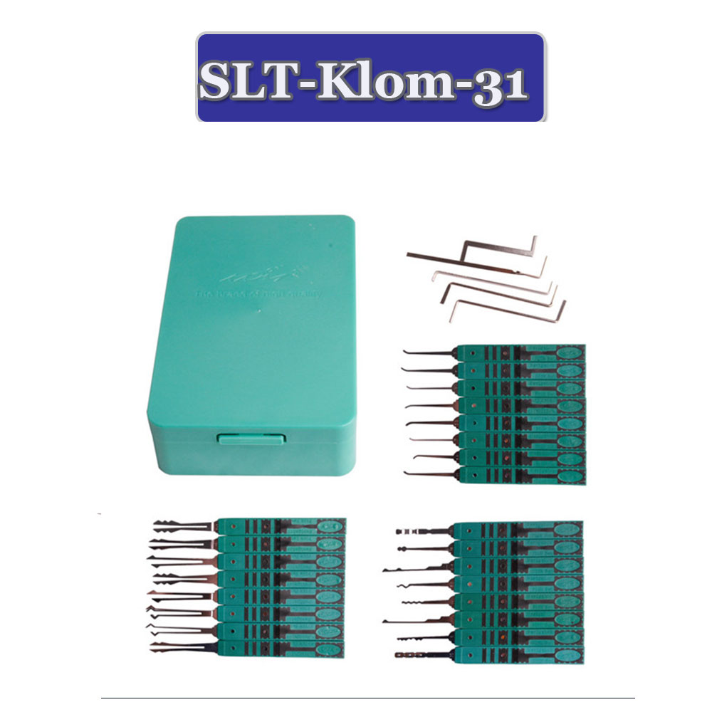 Klom Locksmith Tools Klom Lock Pick 32 Pcs In 1 Set