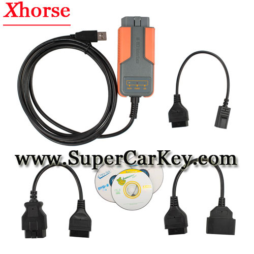Xhorse MVCI 3 IN 1 Toyota TIS V10.30.029 Honda V2.018 Volvo 2010A Support Multi-languages