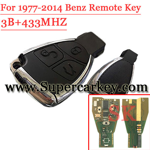 New Remodeling Remote Key 433MHZ (1997-2014) For Benz