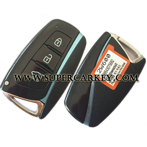 Genuine 3 Button smart Card 433MHZ For Hyundai