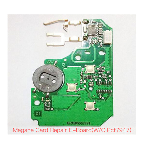 Repair pcb set(w/o pcf7947)For Renault Megane card