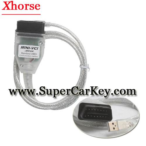 MINI VCI FOR TOYOTA TIS Techstream V10.30.029 Firmware V2.0.4 Single Cable Support VPW protocol