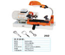 Model 202 wenxing key cutting machine