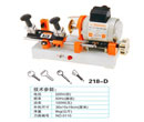 Model 218-D key cutting machine with external cutter